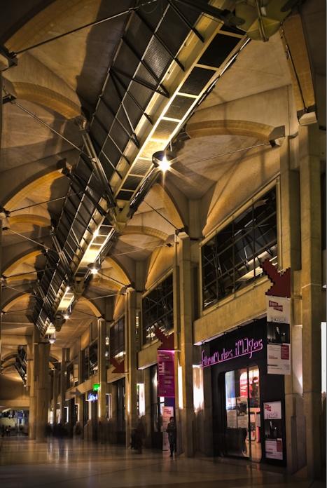 Rue du Cinema, Forum des Halles