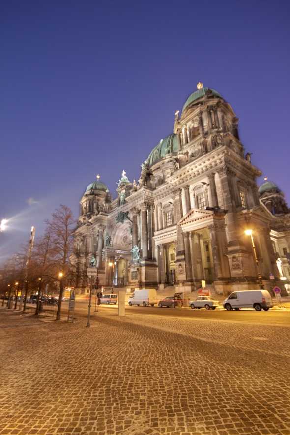 Berliner Dom with an angle