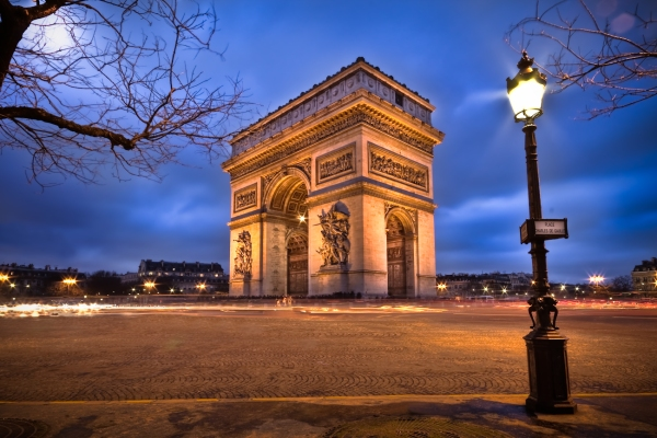 Arc de Triomphe in winter - Martin Soler Photography
