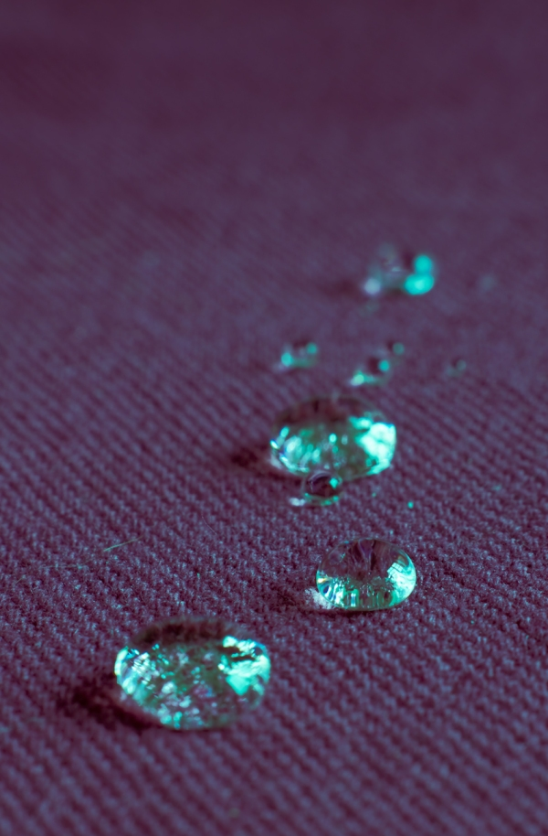 Drops on Cloth