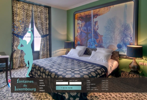 Hotel Fontaines Luxembourg Paris