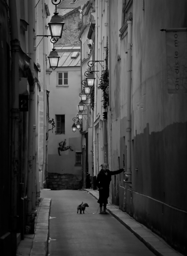 Rue Nevers Paris, street photography