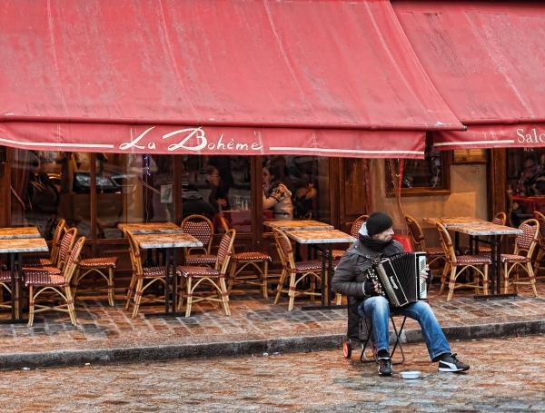 Le Boheme a Montmartre