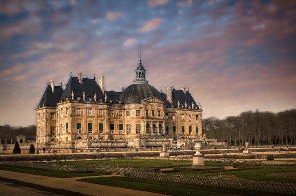 Chateau Vaux le Vicomte HDR image
