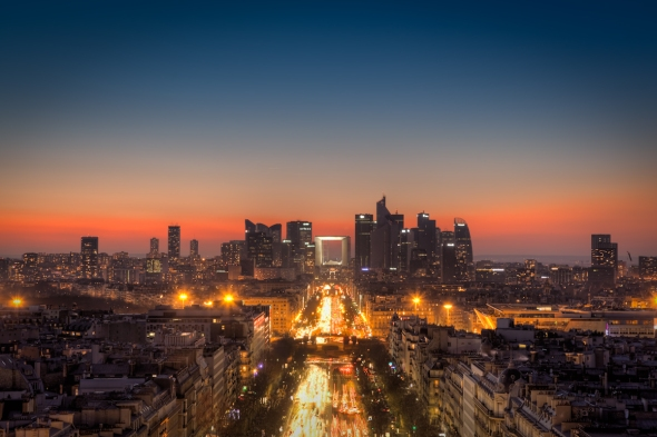 La-Defense-HDR-panorama-from-arc-de-triomphe-martin-soler