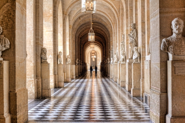 In the halls of Versailles HDR