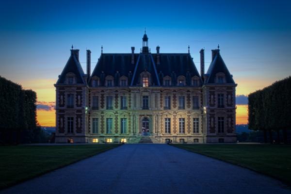 Castle of Sceaux HDR image Paris
