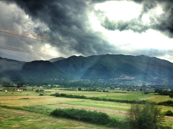 Hills of Italy, iPhone photo