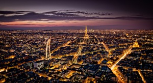 Panorama of Paris by Serge Ramelli