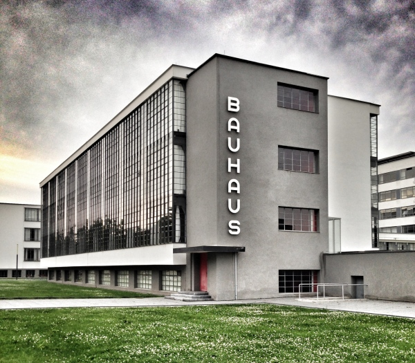 Bauhaus main building, the iconic image