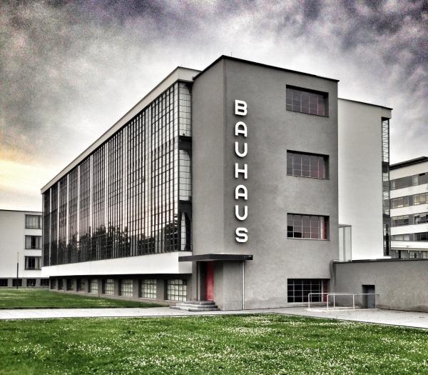 Bauhaus main building, the iconic image