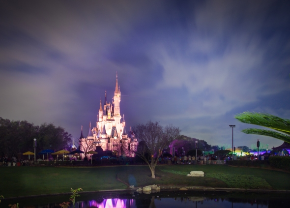 Walt Disney World Castle HDR