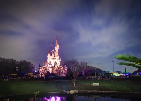 Walt Disney World Castle HDR